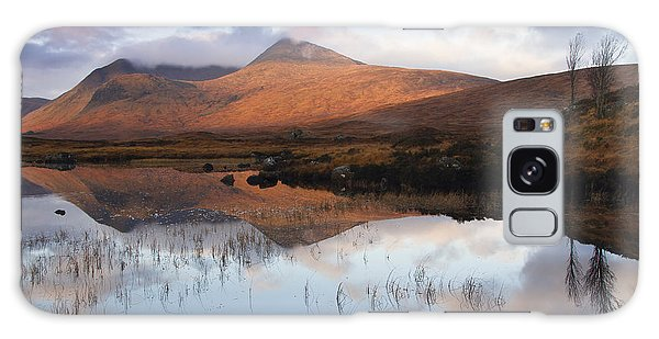 Rannoch Moor At Sunrise Galaxy Case