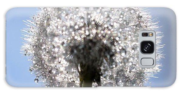 Fleur De Cristal Galaxy Case by Sylvie Leandre