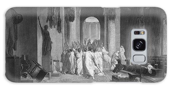 Ides Of March Galaxy Case - Julius Caesar (100 B.c.-44 B.c.) by Granger