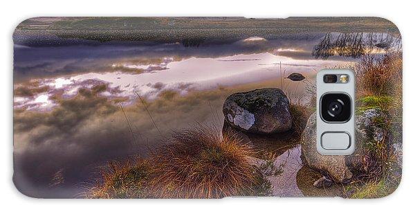 Rannoch Moor Glencoe Scotland Galaxy Case by Gabor Pozsgai