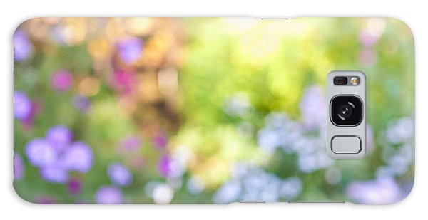 Gardens Galaxy Case - Flower Garden In Sunshine by Elena Elisseeva
