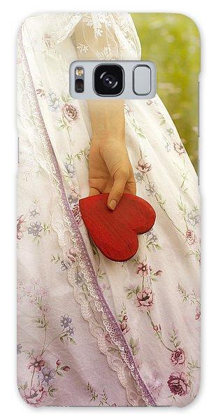 Heartache Galaxy Case - Heart by Joana Kruse