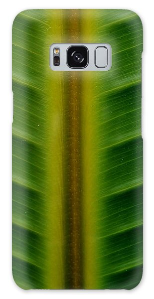 Wild Banana Leaf Galaxy Case by Werner Lehmann