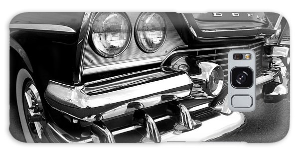 58 Plymouth Fury Black And White Galaxy Case