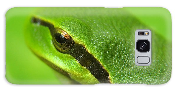 Tree Frog Portrait Galaxy Case by Odon Czintos