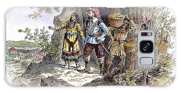 Royal Colony Galaxy Case - Pocahontas (1595?-1617) by Granger