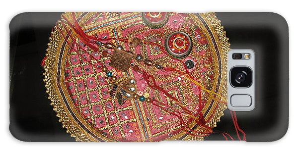 A Bowl Of Rakhis In A Decorated Dish Galaxy Case by Ashish Agarwal