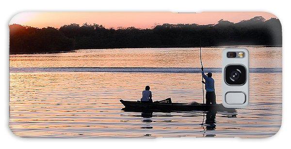 A Fisherman's Story Galaxy Case