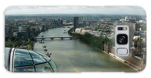 A London Eye's View Galaxy Case