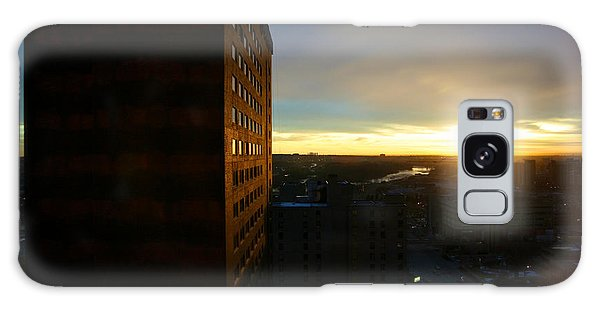 A New Day Begins Calgary Alberta Galaxy Case by JM Photography