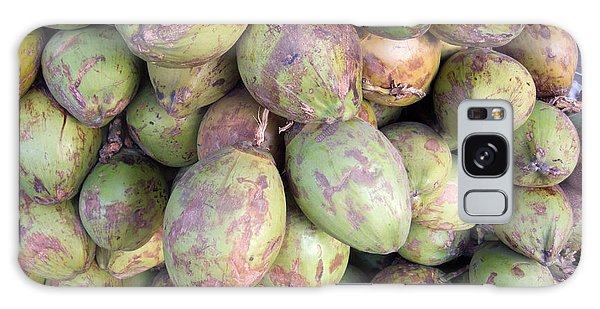 A Number Of Tender Raw Coconuts In A Pile Galaxy Case by Ashish Agarwal