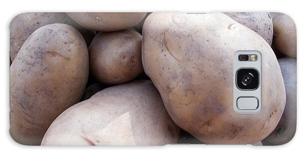 A Pile Of Large Lumpy Raw Potatoes Galaxy Case by Ashish Agarwal