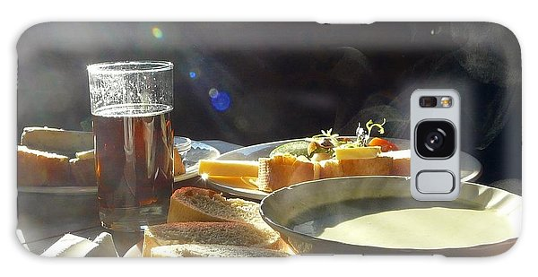 A Ploughman's Lunch Galaxy Case by Rdr Creative