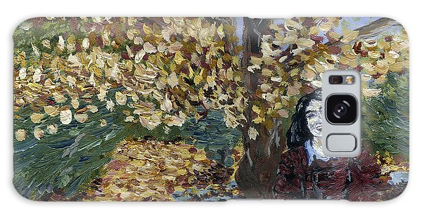 A Portrait Of The Artist's Mother In Autumn Galaxy Case by Denny Morreale