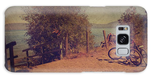 Handrail Galaxy Case - A Ride Down To The Lake by Laurie Search
