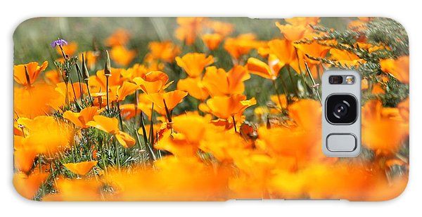 A River Of Poppies  Galaxy Case