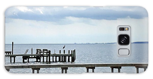 A Stormy Day On The Pamlico River Galaxy Case