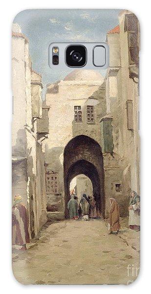 A Street In Jerusalem Galaxy Case