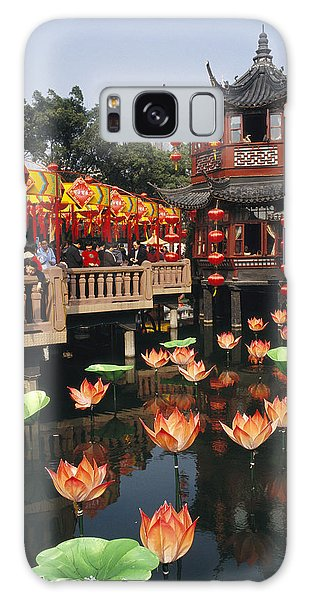 People's Republic Of China Galaxy Case - A Tea House In Shanghais Yuyuan Garden by Justin Guariglia