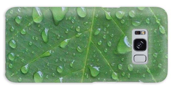 Political Galaxy Case - A Tree Leaf Under The Rain, By My Lens by Ahmed Oujan