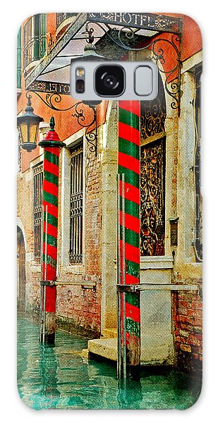 A Venetian Hotel Galaxy Case by Martina Fagan