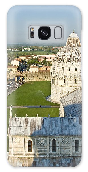 A View From The Bell Tower Of Pisa  Galaxy Case