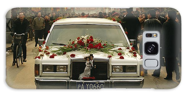 People's Republic Of China Galaxy Case - A Wedding Limousine With Flowers Rolls by Justin Guariglia