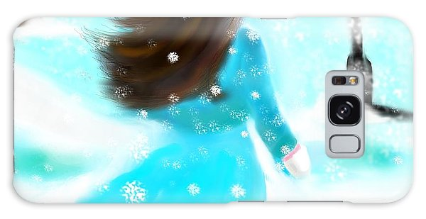 A Winter Day Galaxy Case by Lori  Lovetere