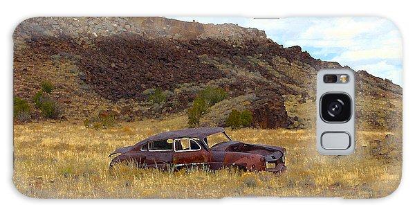 Abandoned Car Galaxy Case by Steve McKinzie