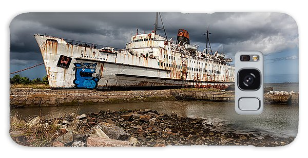 Swan Boats Galaxy Case - Abandoned Ship by Adrian Evans