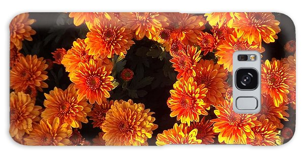 Ablaze Galaxy Case by Elizabeth Sullivan