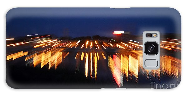 Abstract - City Lights Galaxy Case by Sue Stefanowicz