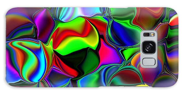 Abstract Colors 2 Galaxy Case