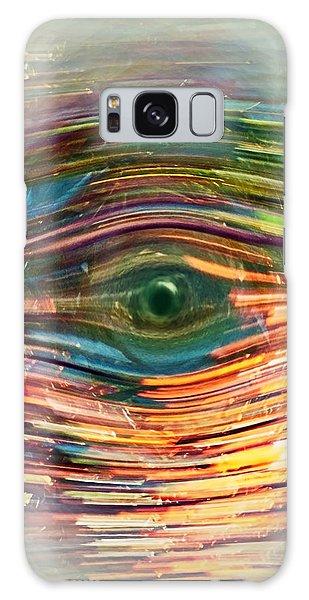 Abstract Eye Galaxy Case