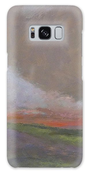 Abstract Landscape - Scarlet Light Galaxy Case