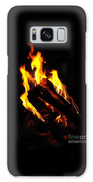 Abstract Phoenix Fire Galaxy Case