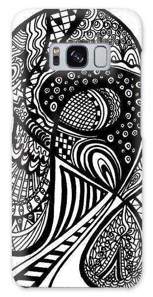 Galaxy Case - Abstract Rounding by Karen Elzinga