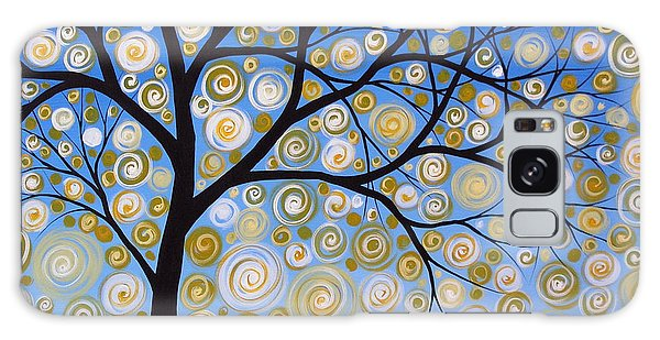 Abstract Tree Nature Original Painting Starry Starry By Amy Giacomelli Galaxy Case