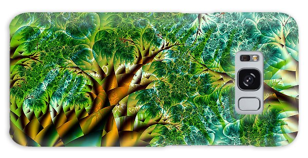 Abstract Trees Galaxy Case