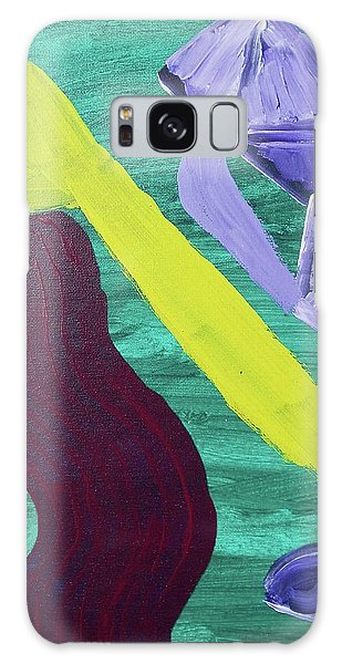 Abstract Woman Galaxy Case