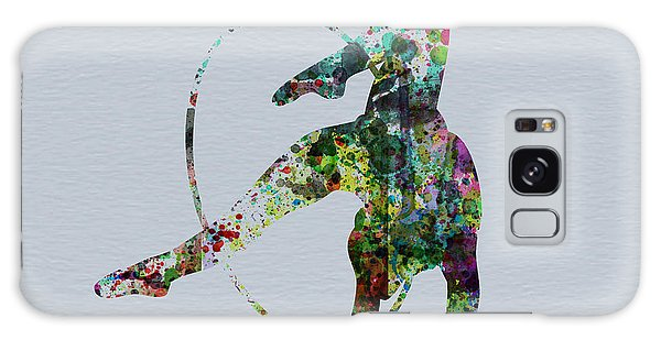 Beautiful Galaxy Case - Acrobatic Dancer by Naxart Studio