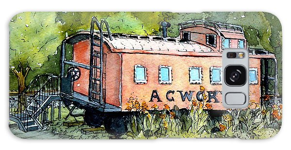 Acworth Caboose Galaxy Case