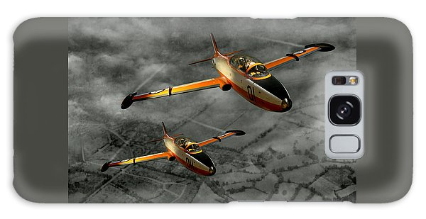Aermacchi In Flight Galaxy Case by Steven Agius