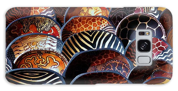 African Art  Wooden Bowls Galaxy Case by Werner Lehmann