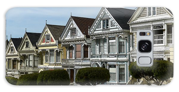 Alamo Square San Francisco California Galaxy Case