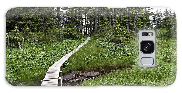 Alaska Meadow Trail Galaxy Case