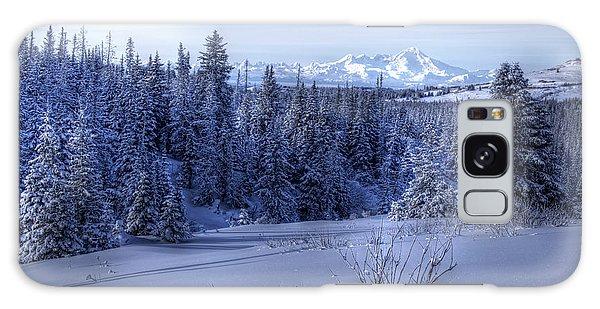 Alaskan Winter Landscape Galaxy Case by Michele Cornelius