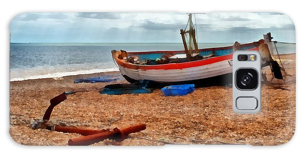 Aldeburgh Fishing Boat Galaxy Case