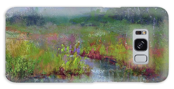 Alder Meadow Morning Galaxy Case