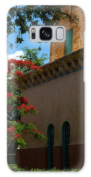 Alhambra Water Tower Windows And Door Galaxy Case